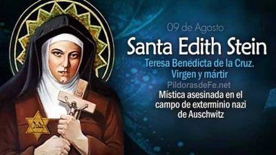Hoy es fiesta de Santa Edith Stein, judía conversa y víctima de los nazis