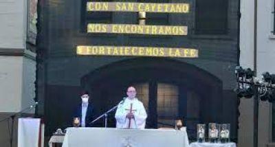 Mons. Fernández recuerda la propuesta original de San Cayetano