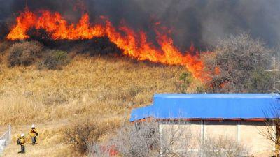 Controlaron los incendios en la provincia de Córdoba