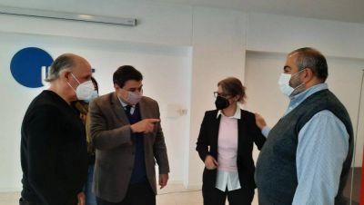 Héctor Daer se mostró con los candidatos del Frente de Todos y expresó su apoyo