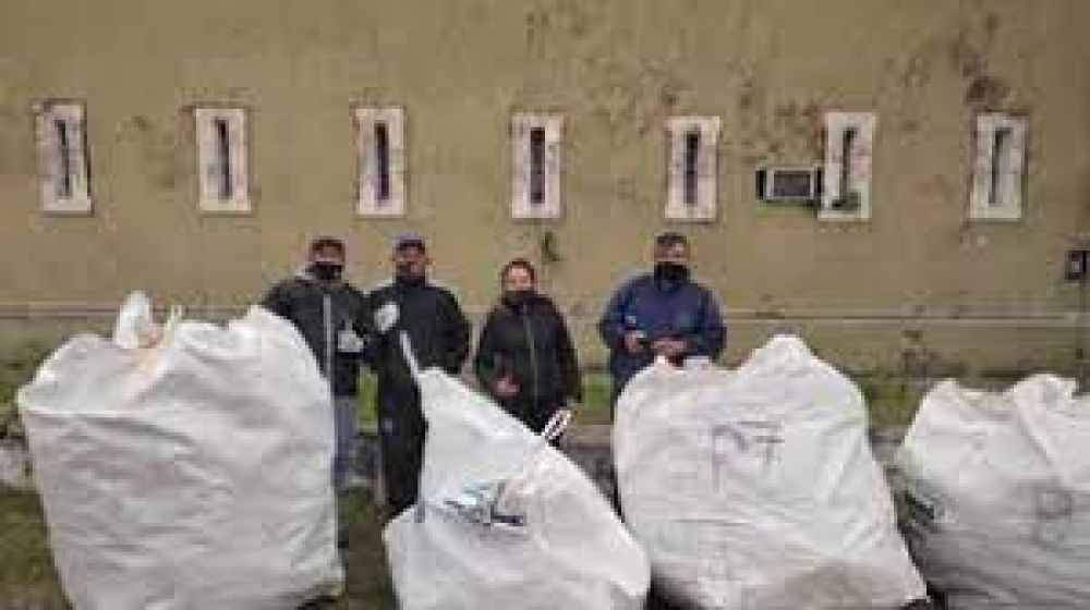 La Unidad Penal 1 avanza en un proyecto de recolección diferenciada de residuos