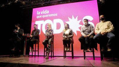 Con Caserio, Gill, Estévez y Riutort, el Frente de Todos lanzó la campaña