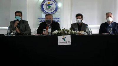 El ministro Accastello visitó Deheza en el marco del Segundo Plenario de la Red de Municipios Industriales