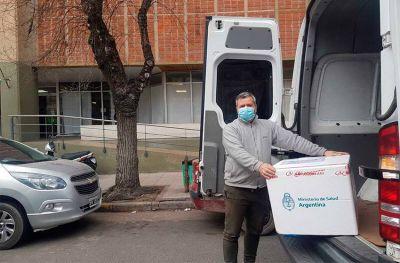 Llegan más de 15 mil dosis de Moderna a Mar del Plata