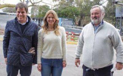 Santilli y Larreta visitaron Hurlingham para apoyar la candidatura de Lucas Delfino