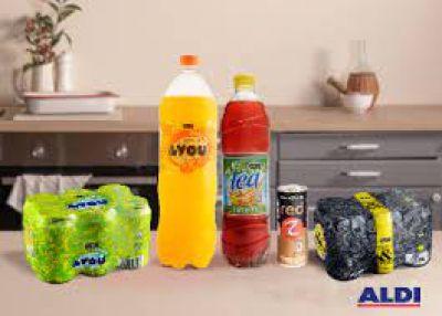 Aldi reduce hasta un 45% el azúcar en sus refrescos