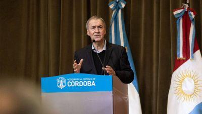 Antes de viajar a Río Cuarto, Schiaretti lanza un Plan de Conectividad