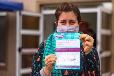 Ya se vacunaron contra el coronavirus más de 400 mil marplatenses