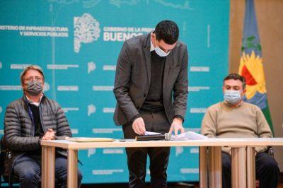 Licitaron obras cloacales para Malvinas Argentinas