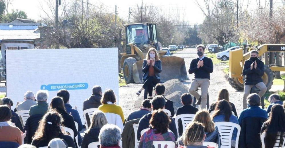 El Intendente presentó el Programa de Empedrado de más de 500 calles de tierra