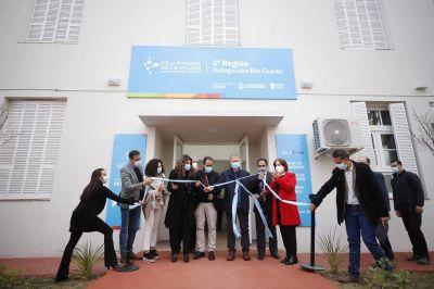 Ya funciona una sede del Polo de la Mujer en la ciudad de Río Cuarto