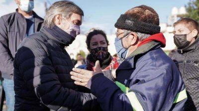 Máximo Kirchner, en campaña: