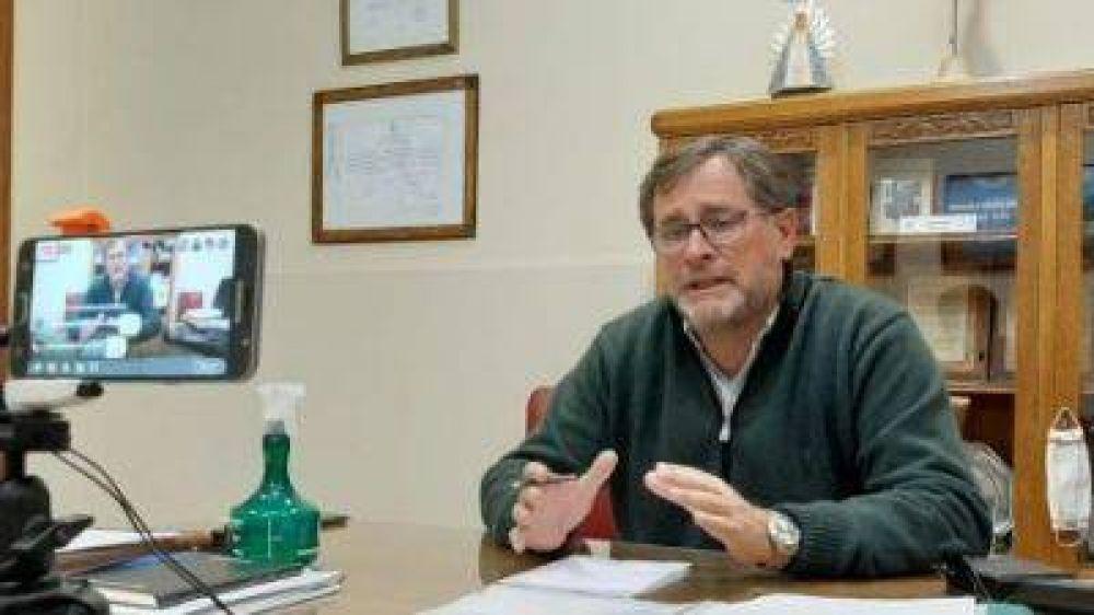 Federico firmó un convenio con Zurro que permitirá que Suipacha obtenga un desembolso de 15 millones de pesos