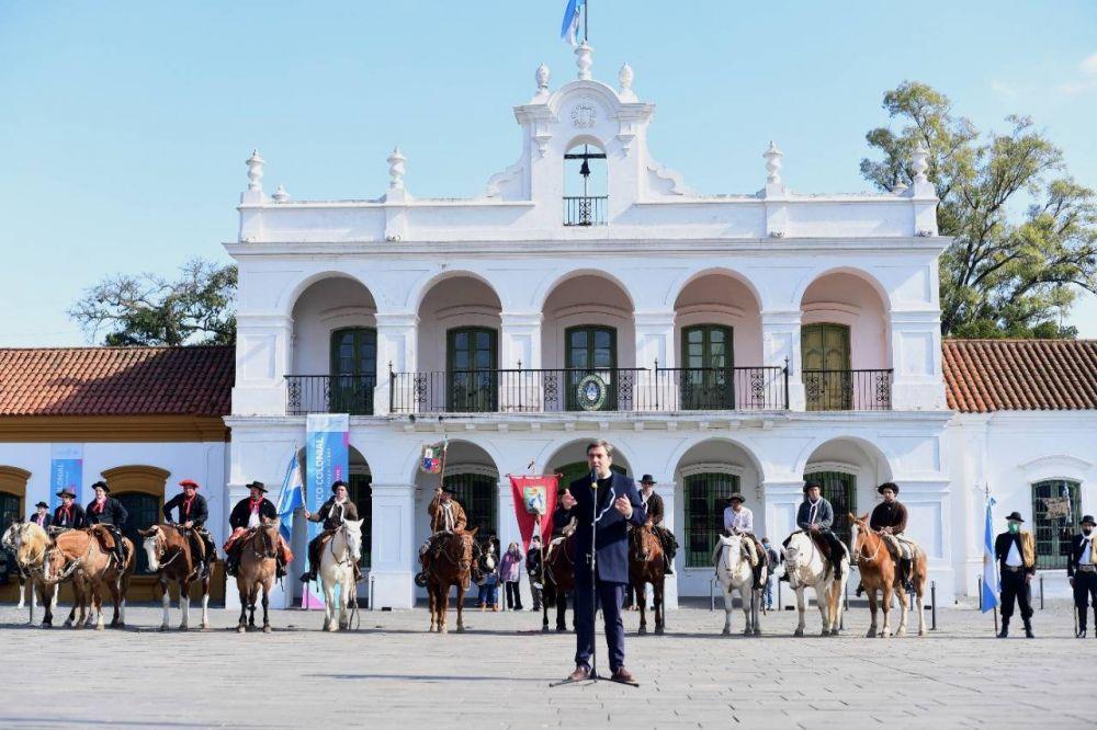 El Intendente encabezó el acto de conmemoración de la Reconquista de Buenos Aires