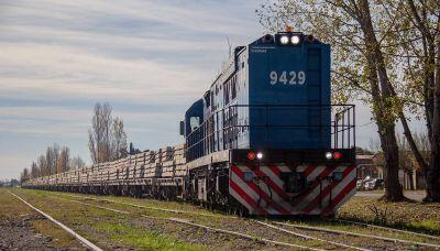 Trenes: mientras arrancan pruebas de durmientes sintéticos, vuelven las denuncias por uso de quebracho
