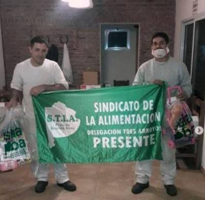 El STIA PBA entregó regalos para los/as hijos/as de afiliados/as