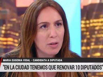 María Eugenia Vidal destrozó la gestión de Sergio Berni