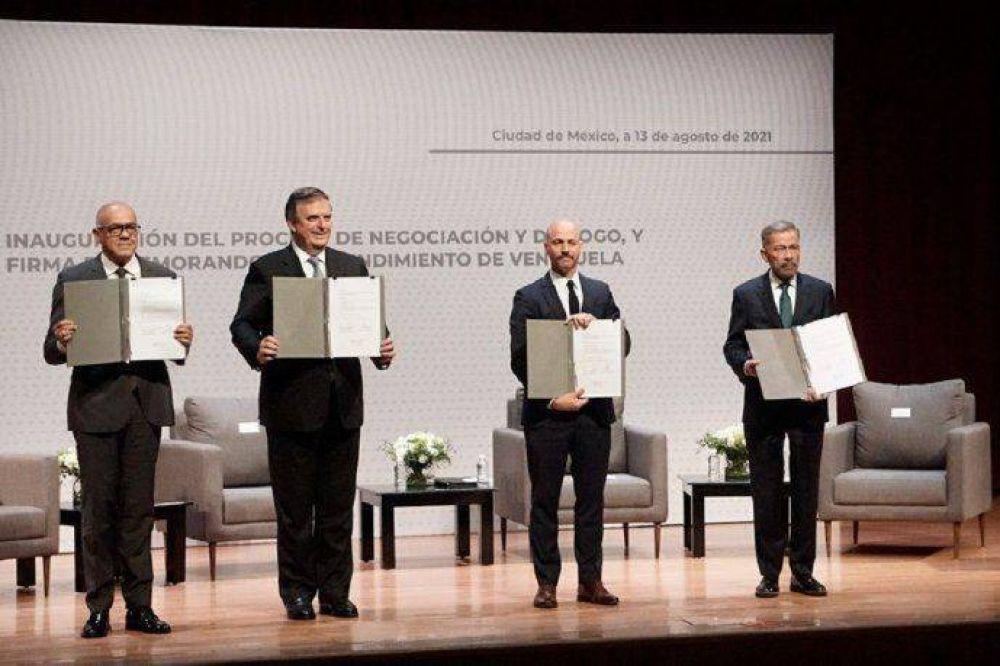 Alberto Fernández celebró el acuerdo de entendimiento entre el gobierno de Venezuela y la oposición