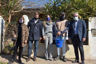 Tigre: Malena Galmarini y Julio Zamora inauguraron una red cloacal que beneficiará a más de 9800 vecinos de El Talar