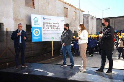 Entregaron más viviendas en Avellaneda