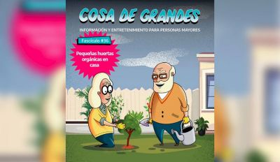 La Provincia incentiva a los adultos mayores a trabajar en huertas caseras
