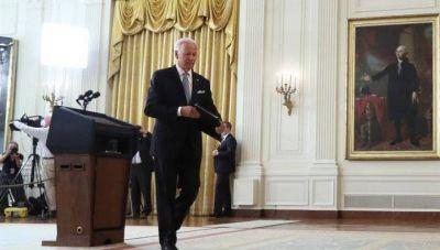 """Crisis política en EE. UU.: Biden confesó que no invadieron Afganistán para """"construir una nación"""