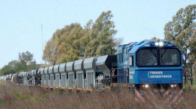 Trenes Argentinos transportó en julio un 61% más de carga que en el mismo mes del 2020