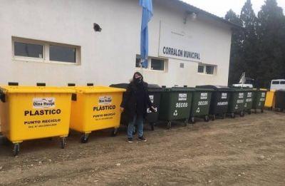 Nuevo sistema de recolección de residuos en Dina Huapi