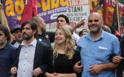 El Frente de Izquierda realiza acto en General Pacheco para pedir por la reducción de la jornada laboral