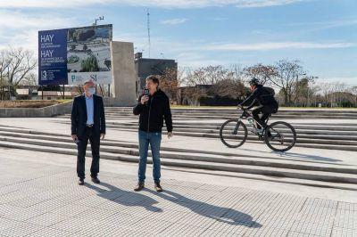San Isidro: Se inauguró el acceso principal del parque público del puerto