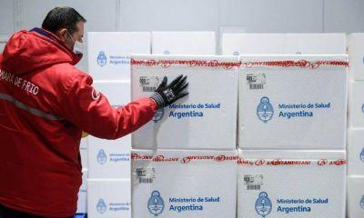 Las vacunas Sputnik V producidas en Pilar ya se distribuyeron a las provincias