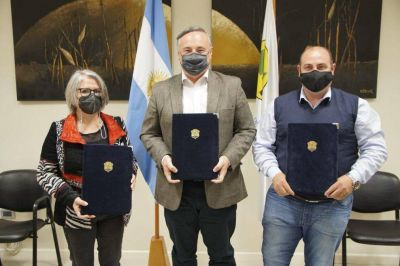 La Provincia anunció la creación del Parque Industrial Ticino-La Palestina