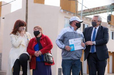 En la Rosada hay satisfacción por el acto en la Isla Maciel: Alberto y CFK seguirán haciendo campaña juntos