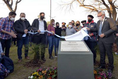 """Julio Zamora: """"Esta plaza es un reconocimiento infinito para todos los trabajadores esenciales que pusieron el cuerpo a esta pandemia"""""""