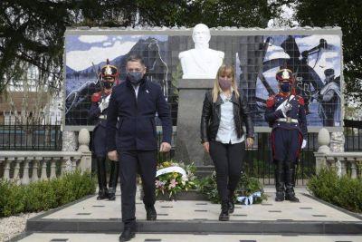 """Gray: """"Este año conmemoramos el legado del General San Martín con mayor esperanza y más certezas"""""""