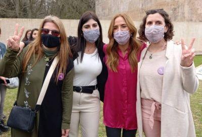 Las candidatas a concejalas compañeras de lista de Alejo Sarna estuvieron con Victoria Tolosa Paz