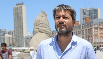 """Lammens visitó las obras del complejo hotelero de Chapadmalal: """"Esperamos tener una gran temporada de verano"""""""