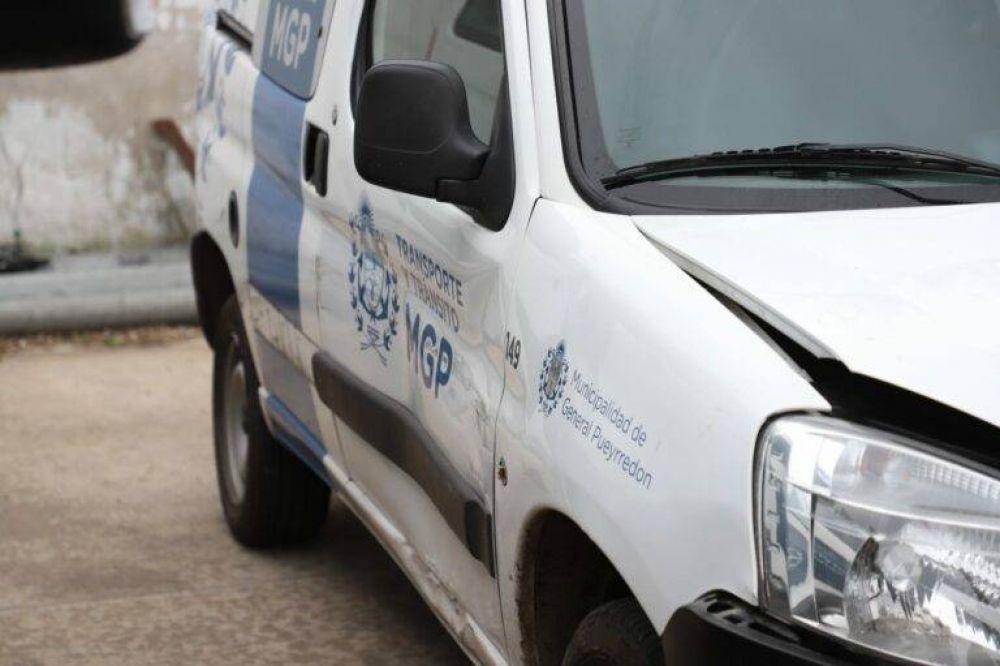 El misterioso robo de la camioneta de Tránsito: buscan al ladrón a través de las cámaras del COM
