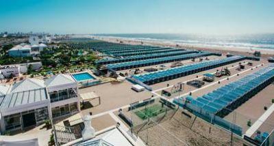 UTHGRA inició la preventa de carpas en su balneario 14 de Punta Mogotes