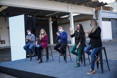Pilar: Achával y Laurent recibieron a Tolosa Paz, Galmarini y Español en el Parque Industrial