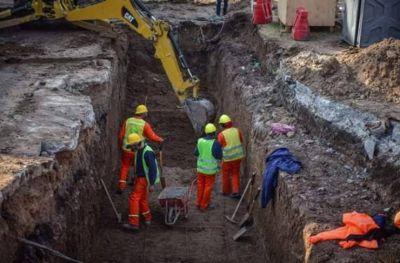 Escobar: intensifican la construcción del paso bajo nivel de la calle Pablo Podestá