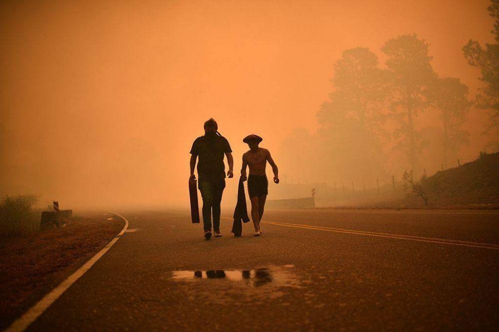 Córdoba: el primer gran incendio del año arrasó con 80 casas