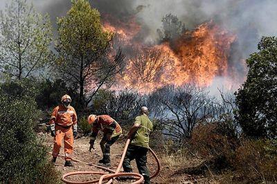 Tristeza, dolor y bronca: las sensaciones de los afectados por los incendios en Córdoba