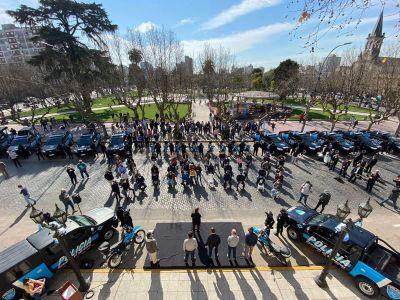 San Miguel sumó 20 vehículos nuevos a la Policía Municipal