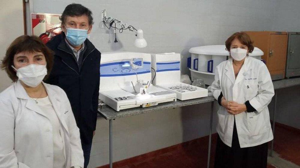 San Isidro: modernizan el servicio de anatomía patológica del Hospital Central