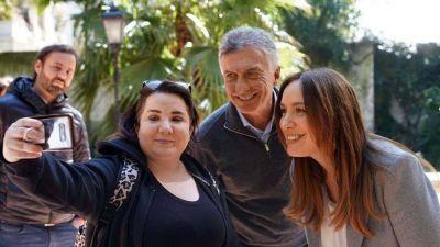 Macri se sumó a la campaña de Juntos con una recorrida junto a María Eugenia Vidal en CABA