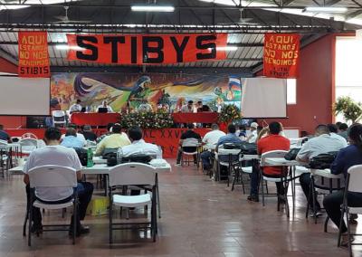Honduras: STIBYS realiza XXVIII Congreso Ordinario