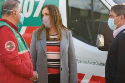 Acusaron a Vidal de utilizar la Tragedia de Once, tras recibir un chaleco del SAME