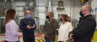 Telpuk visitó una planta de nanotecnología