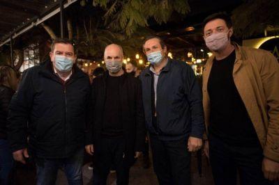 Montenegro se reunió con Larreta y dirigentes del Pro